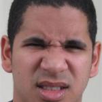 Le degout émotion micro expression visage